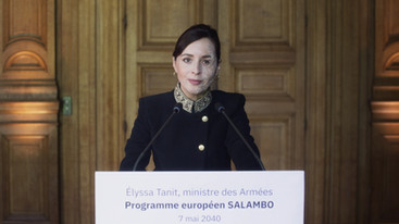 Discours d'Élyssa Tanit, ministre des Armées