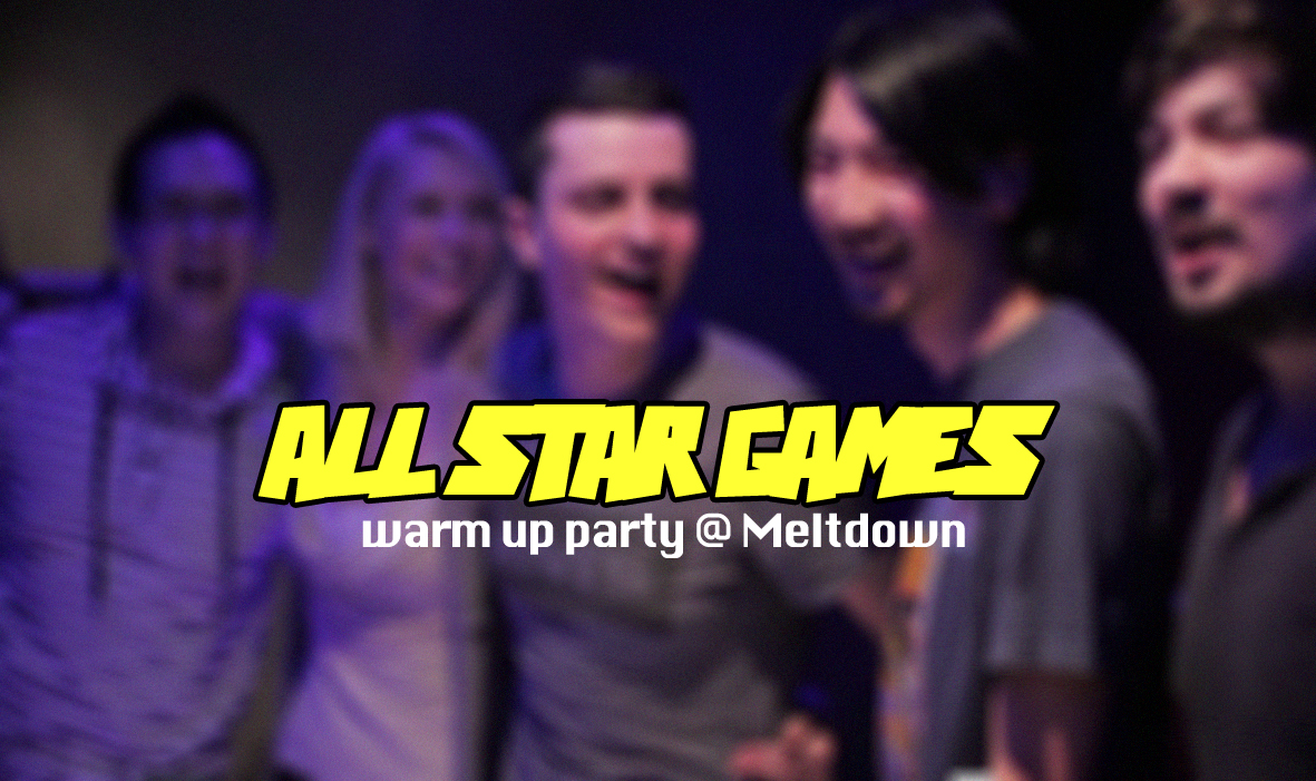 All Star Games - Warm Up Party