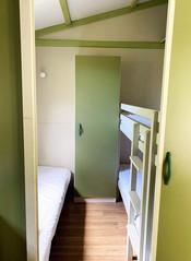 Chambre chalets 4/5 personnes - 1 lit simple + 1 lit superposé