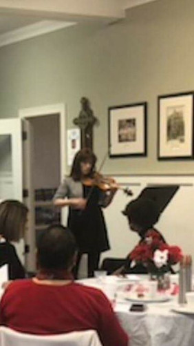 Performing for my Delta Kappa Gamma Inte
