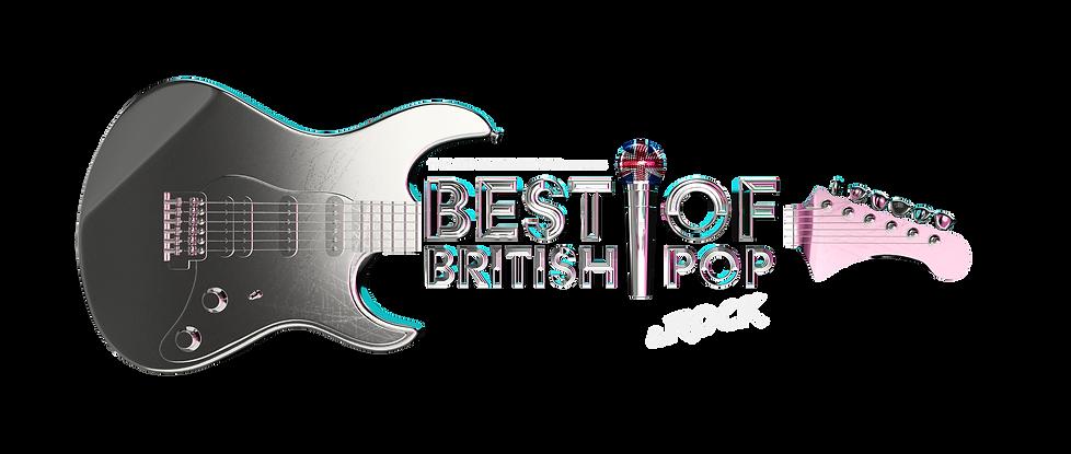 The Best Of British Pop - Logo Transpare