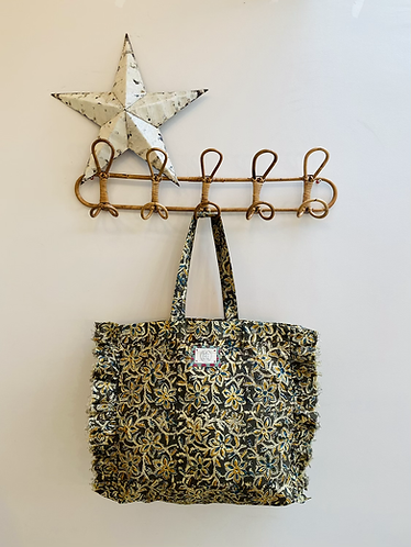 SMALL Polly Cotton Fabric Bag