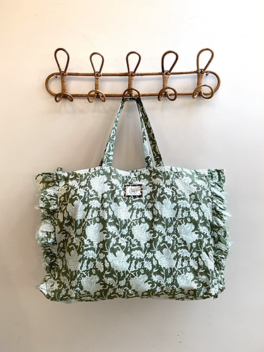 LARGE Khloe Cotton Fabric Bag