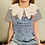 Thumbnail: Mini Imogen Button Collar 5-7/8-10y - Limited Edition