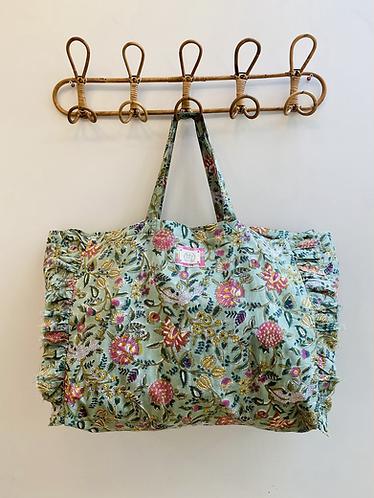 LARGE Izzy Cotton Fabric Bag