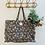 Thumbnail: LARGE Ebony Cotton Fabric Bag