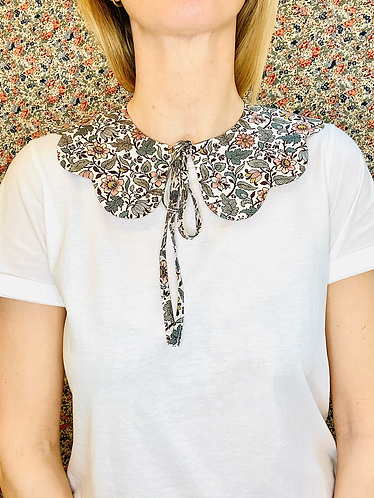 Luna Scalloped Collar - Made with Liberty Fabric
