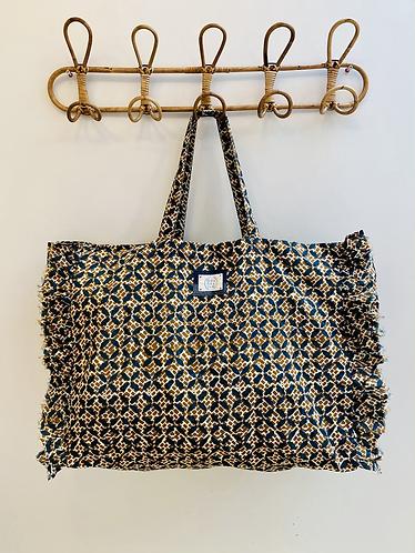 LARGE Marnie Cotton Fabric Bag