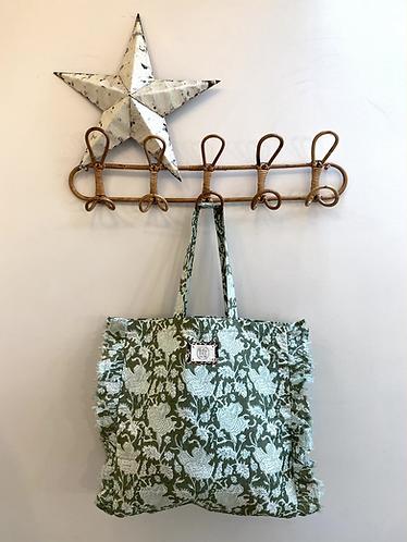 SMALL Khloe Cotton Fabric Bag