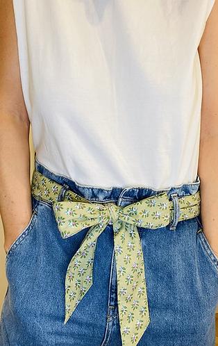 LONG Length Aarya Cotton Fabric Belt