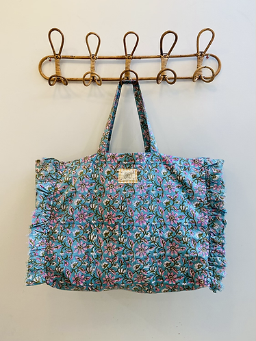 LARGE Tilly Cotton Fabric Bag