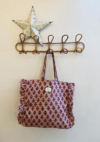 SMALL Claire Cotton Fabric Bag
