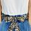 Thumbnail: REGULAR Length Ebony Cotton Fabric Belt