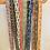 Thumbnail: LONG Length Ebony Cotton Fabric Belt