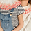 Thumbnail: Mini Nell Neon Button Collar 5-7/8-10y - Limited Edition
