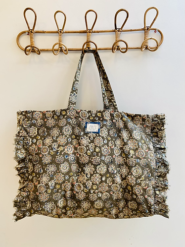 LARGE Catherine Cotton Fabric Bag