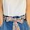 Thumbnail: REGULAR Length Billie Cotton Fabric Belt