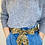 Thumbnail: LONG Length Vickie Cotton Fabric Belt