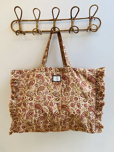 LARGE Penny Cotton Fabric Bag