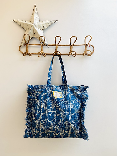 SMALL Indie Cotton Fabric Bag
