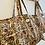 Thumbnail: LARGE Saffron Cotton Fabric Bag