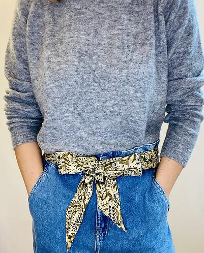 REGULAR Length Kemi Cotton Fabric Belt