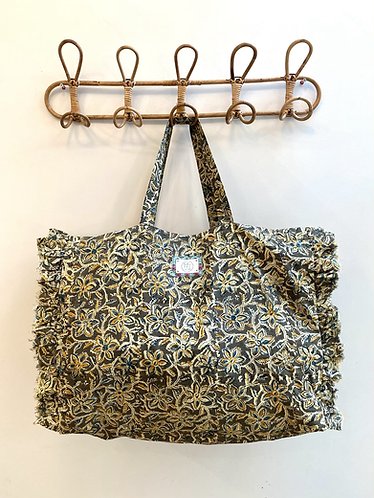 LARGE Polly Cotton Fabric Bag