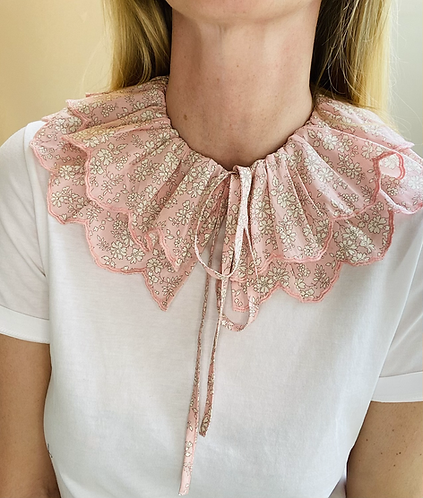 Jane Tie Collar - Made with Liberty Fabric