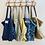 Thumbnail: SMALL Emma Cotton Fabric Bag