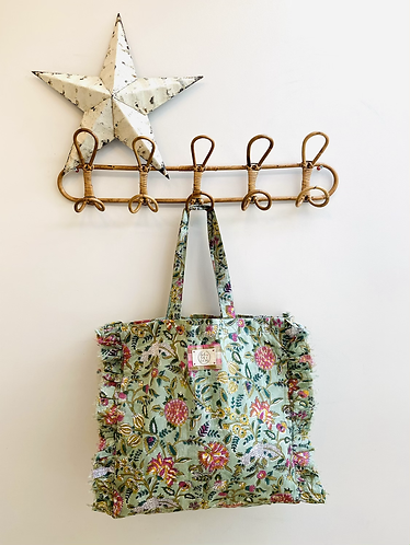 SMALL Izzy Cotton Fabric Bag