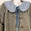 Thumbnail: Olive Reversible Collar - Made with Liberty fabric