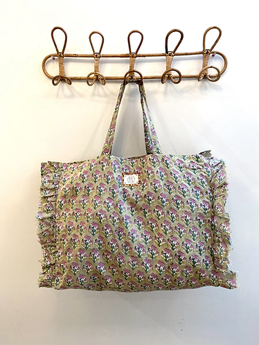 LARGE Kiki Cotton Fabric Bag