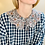 Thumbnail: Luna Scalloped Collar - Made with Liberty Fabric