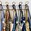 Thumbnail: LARGE Lisa Cotton Gingham Fabric Bag