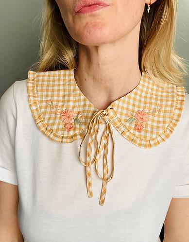 Lumi Linen Tie Reversible Collar - Limited Edition