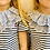 Thumbnail: Mini Sophie Button Collar 5-7/8-10y - Limited Edition