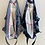 Thumbnail: SMALL Lisa Cotton Gingham Fabric Bag