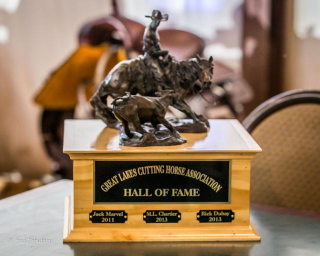 Hall of Fame revolving trophy