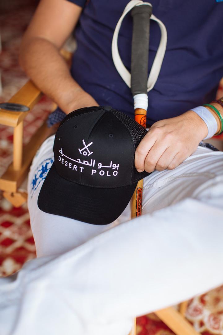 Desert Polo Official Outfitter (Mesh Cap)