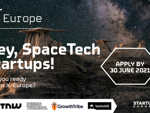SpaceTech innovators, it is your time to apply for X-Europe!