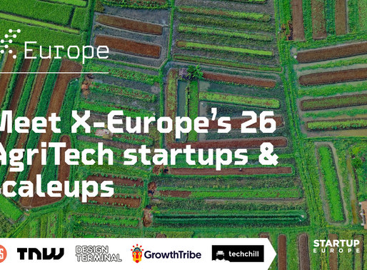 Europe's top startups & scaleups driving AgriTech growth