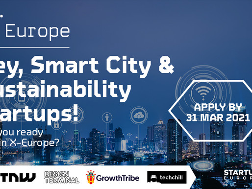 Smart Cities and Sustainability innovators, apply now to X-Europe!
