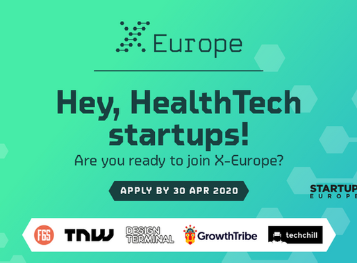 Are you a HealthTech or BioTech startup? Apply now to X-Europe!