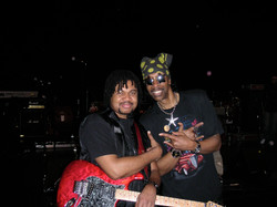 With Bootsy SNL rehearsal