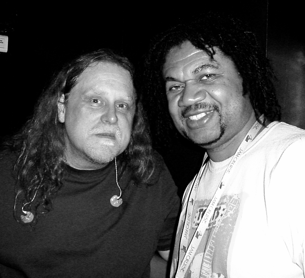 With Warren Haynes on Jam Cruise