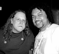 With Warren Haynes on Jam Cruise