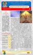 Boletín, Domingo de los Santos Padres del 1er Concilio Ecuménico