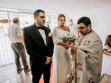 1er Matrimonio en la Parroquia San Basilio de Ostrog de Barranquilla