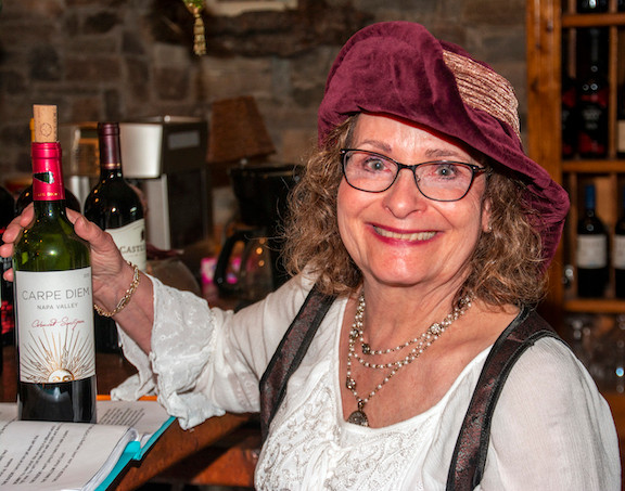 Stephanie Venrick in the production of Murd-Arr, a dinner theatre presentation at Swan River Inn in Bigfork, Montana, July 28-Aug. 5 2019
