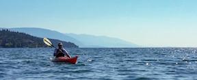 Flathead Lake Kayak Poker Paddle